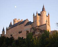 Palácio de Alcázar de Segóvia, Espanha.