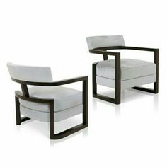 Black and white contemporary chairs Iron Furniture, Deco Furniture, Funky Furniture, Furniture Styles, Sofa Furniture, Furniture Design, Chinese Furniture, Single Sofa, Occasional Chairs