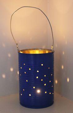 Pierced tin - party lights!