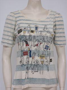 "T-shirt ""Festa"" | Maria Filó | Outono-Inverno 2012"