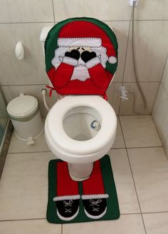 Santa Snowman Elk Toilet Seat Cover Contour Rug Bath Mat Carpet Bathroom Set New Year Xmas Christmas Decoration For Home. Christmas Bathroom, Christmas Home, Christmas Crafts, Christmas Ornaments, Country Christmas, Homemade Christmas Decorations, Xmas Decorations, 242, Different Holidays
