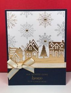 Tutoring with BJ – Hearts Come Home Hearts Come home, Christmas Card, Stampin Up!, BJ Peters, Stampin' Up! Christmas Cards 2017, Christmas Hearts, Homemade Christmas Cards, Stampin Up Christmas, Xmas Cards, Homemade Cards, Handmade Christmas, Holiday Cards, Christmas Diy