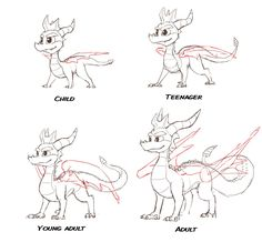 Classic Spyro through ages by Tsnn on DeviantArt Fantasy Creatures, Mythical Creatures, Spyro The Dragon Game, Video Game Art, Video Games, Spyro And Cynder, Sonic Funny, Crash Bandicoot, Dragon Art