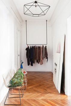 House tour: a pared-back 19th-century apartment in Paris - Vogue Living