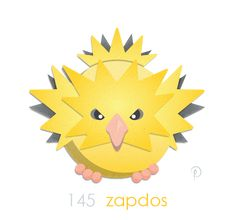 Zapdos! The electric legendary bird… I've always wondered about complementary types. Flying-types are weak to Electric… So shouldn't the Flying type be immune or something? It conducts, nay generates electricity. As for the ongoing discussion of...