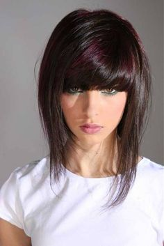 Medium Dark Hairstyles