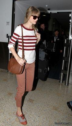 Taylor Swift :) we look and dress alike haha