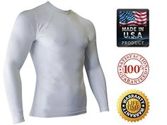 Rash Guard For Men - USA MADE Compression, Workout & UV Sun Protection Shirt (White Large) Legend Rash Guards http://www.amazon.com/dp/B00O6OHZ7C/ref=cm_sw_r_pi_dp_U1rmwb0RSX61Z