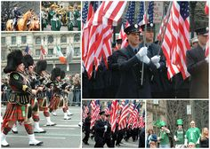 St. Patricks Day Parade, NYC - it's a very big deal here in NYC. People come from Ireland to see this.