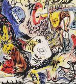 Jackson Pollock. Untitled. (c. 1945)