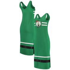 competitive price ec262 a854b Boston Celtics G-III 4Her by Carl Banks Women s Maxi Dress - Kelly Green  Black