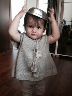 Baby poncho  www.lesmacaronsdenathalie.com