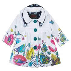 #Imperméable #Gomme Mini Kid #Fille #SS15 #Rubber #Raincoat #girl