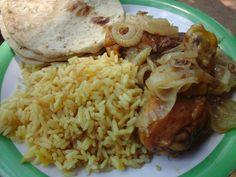 Pollo Encebollado Receta Salvadoreña Ingredientes 1 Pollo entero cortado en 8 piezas 3 cebollas grandes partidas en rodajas ...