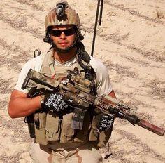 US Navy SEAL In Afghanistan