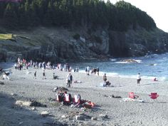 Photo of Middle Cove, when the caplin is rolling - Middle Cove, Newfoundland