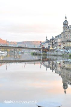 Dinant - Cathedral & River