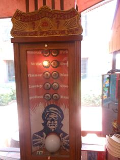Old Turn of the Century Fortune Teller Machine (picture taken at St. Augustine History Mu