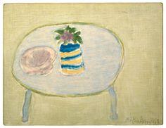 Milton Avery. S'il existe un lien entre le monde de la peinture traditionnelle américaine du début du xxe siècle et de celui de l'expressionnisme abstrait autour de 1945, c'est bien Milton Avery qui l'a créé.