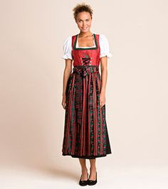 Damen Dirndl in rot –  die besten Preise im C&A Online-Shop!