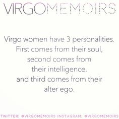 ♍ #VirgoWomen #VirgoWoman #VirgoMemoirs #Virgo #TeamVirgo #Virgos #VirgoNation