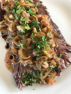 Onglet à l'échalote Recipes With Fish Sauce, Whole30 Fish Recipes, Easy Fish Recipes, Sauce Recipes, Asian Recipes, Beef Recipes, Healthy Recipes, Drink Recipes, Buffets
