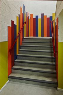 Vloer-, wand- en trapbekleding bij het Griftlandcollege in Soest