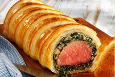 Schweinefilet in Blätterteig Fleischgerichte Rezepte Haushalt Leimer KG