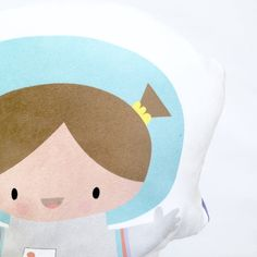 This ambitious & talented astro girl is the perfect gift for your little one! She is a versatile plush, perfect for play & naptime!  She is