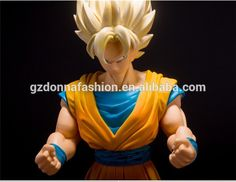 Dragon Ball Z figurines Giant Goku Figurine DBZ Super Saiyan Monkey King Action Figure Dragon Ball Z Collectible Model Toys 42CM, View Action Figures, donnatoyfirm Product Details from Guangzhou Donna Fashion Accessory Co., Ltd. on Alibaba.com