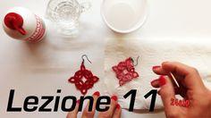 Chiacchierino Ad Ago - 11˚ Lezione Come Indurire Uncinetto Pizzo Bijoux ...