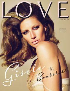 LOVE Magazine #4 Covers   Gisele, Alessandra, Agyness, Rosie, Lauren, Sienna & Kelly