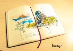 Moleskine GAFISA - ivonesyo ilustração