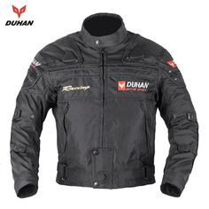 67.52$  Buy here - http://alik07.worldwells.pw/go.php?t=32285002774 - DUHAN Men's Oxford Cloth Riding Motocycle Racing Jacket Coat Motorcycle Windproof Jaqueta Clothing 4 Color  Five Protector Gear