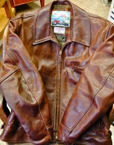 Whattt??? - Aero Horsehide Chromexcel Jacket