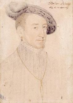 Son of Queen Claude and Francis I,   Charles of France, Duke of Angoulême and Orléans by Jean Clouet