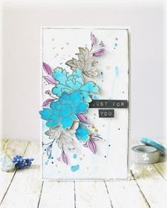 Hussena has done it again! Our design team members were just blown away with these colorful, dimensional card. We love how she mixed different bold colors together to create amazing textures and flower arrangement. www.altenew.com