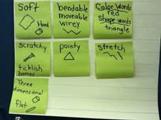 Descriptive Vocabulary for Scientists