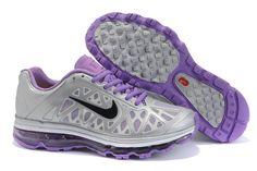 Kvinna Nike Air Max 2011 Skor Silver Lila 87706