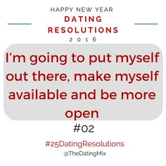 dating of resolution