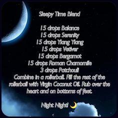 Essential Oil sleep blend