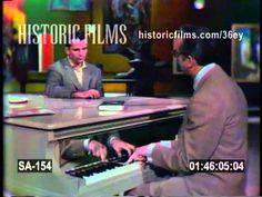JACK KEROUAC on THE STEVE ALLEN SHOW with Steve Allen 1959 - YouTube