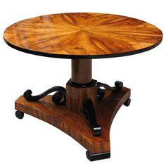 1stdibs | Uncommon designed Biedermeier center table