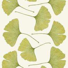 Marimekko Gingko Fabric from Swedish Design Shop.