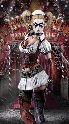 Harley Quinn Arkham Asylum by JPGraphic