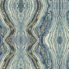 Kashmir Kaleidoscope Abstract Wallpaper by York Wallcoverings Stone Wallpaper, Metallic Wallpaper, Wallpaper Panels, Geometric Wallpaper, Wallpaper Roll, Peel And Stick Wallpaper, Wallpaper Ideas, Wallpaper Patterns, Wallpaper Designs