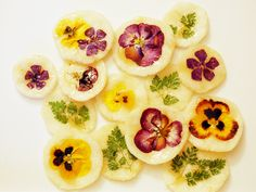 Hwa Jeon are Flower pancakes. I had something like this when I visited Korea over 10 years ago. A little different but good. Plus, they look beautiful!