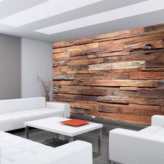 Vlies Fototapete no. 174 Holz Tapete Holzwand Bretter Holztapete Holz Fototapete… Fleece photo wallpaper no. 3d Wall Panels, Wood Panel Walls, Wooden Walls, Wooden Wallpaper, Photo Wallpaper, Paint Wallpaper, Wood Wall Design, 3d Wall Murals, Into The Woods