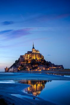 """allthingseurope: """"Mont Saint-Michel, France (by Beboy Photographies) """""""