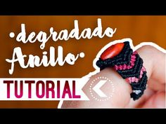 Anillo degradado / ♥︎ Tutorial de macramé | DIY | Paso a paso - YouTube